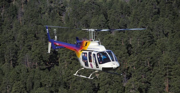 North Canyon tour helicopter2